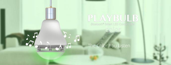 MiPow Playbulb™ Color chytrá LED Bluetooth žárovka s reproduktorem